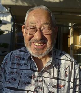 Jimi Yamaichi, Curator of the San Jose Japanese-American Museum. July 2009